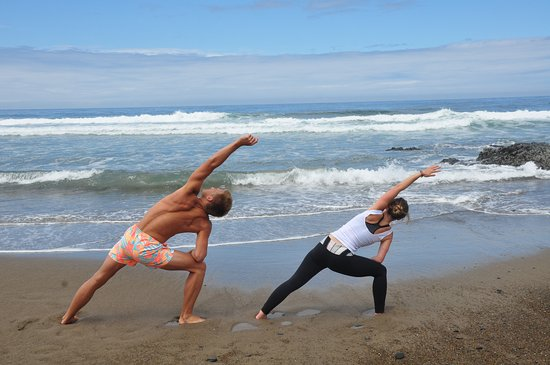 Depoe Bay, Oregón: Great place for yoga