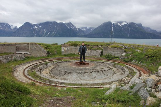 Lyngen Municipality, Norway: Место пушки
