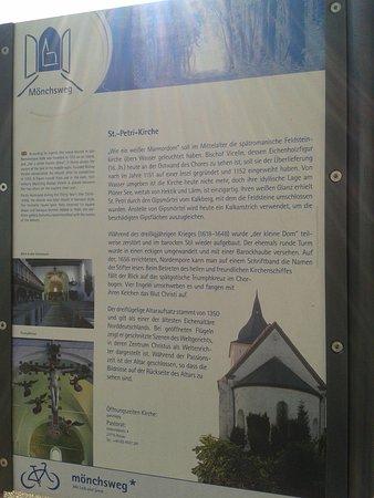 Bosau, Alemanha: Info-Tafel I