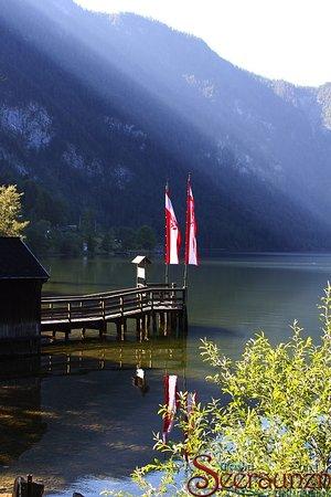 Bad Goisern, Austria: Hauseigener Steg