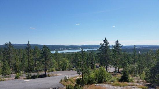 Overtornea, السويد: Utsikt från Luppioberget