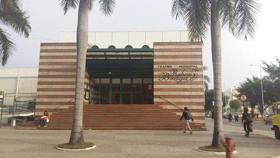 État d'Espírito Santo : Fachada do teatro