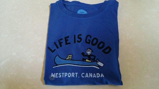 Westport, แคนาดา: Life is Good_large.jpg