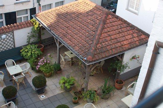 Hotel Ter Brughe: terrasse au calme