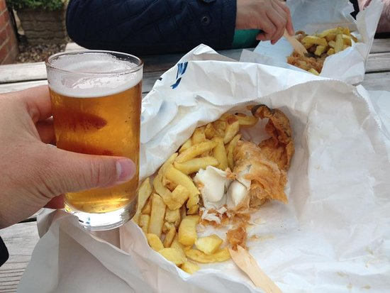 Classic fish  chipsPicture of Aldeburgh Fish and Chips