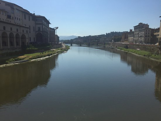 The Westin Excelsior Florence: Morning at the Arno
