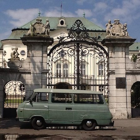 Authentic Slovakia - retro car and bike tours