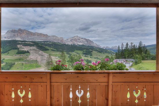 Hotel Lech da Sompunt: View from the room