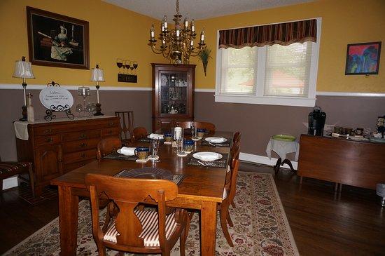 Yadkinville, Северная Каролина: Dinning Room