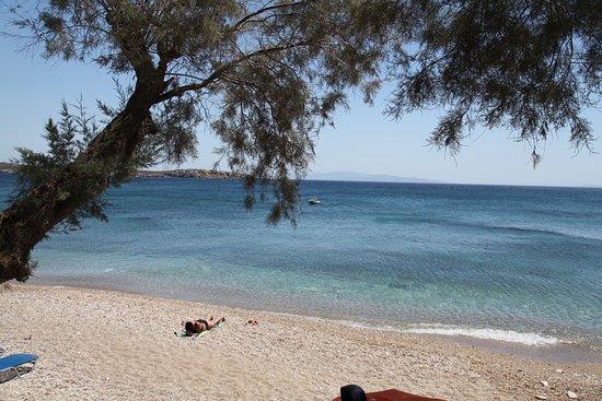 Drios, Grecia: vue depuis le restaurant