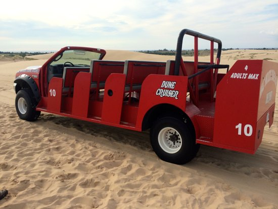 Mears, Мичиган: Super fun dune buggies to experience the sand dunes!