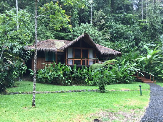 Pacuare Lodge: our river view room/lodge