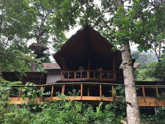 Pacuare Lodge: the restaurant