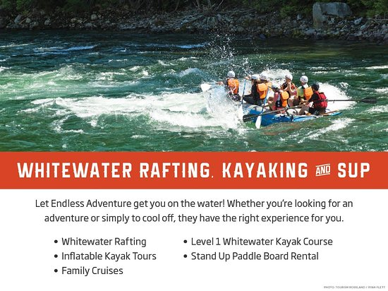 Rossland, Canadá: Whitewater Rafting, Kayaking and S.U.P
