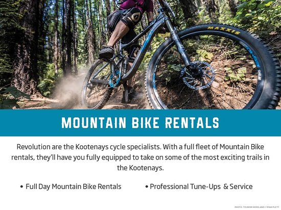 Rossland, Kanada: Mountain Bike Rentals