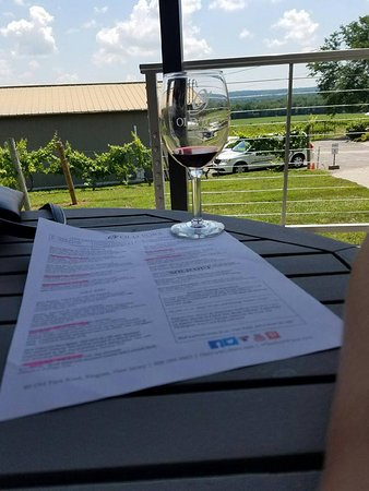Pour & Pedal: Lunch and tasting at Old York Cellars