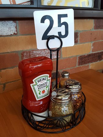 Cockeysville, MD: ketchup and all that