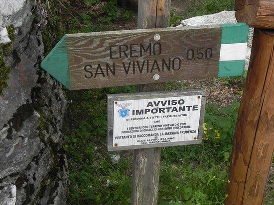Vagli Sotto, Italia: inizio sentiero
