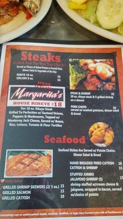 Guymon, OK: Margarita's Steakhouse
