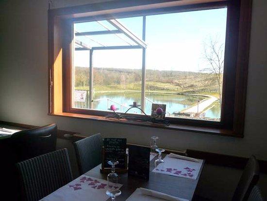 Ferriere-la-Grande, Frankrike: La salle avec vue sur les étangs