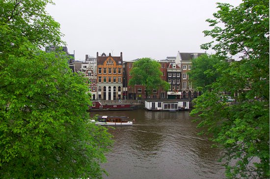 Amsterdam House Hotel: view from the top floor room