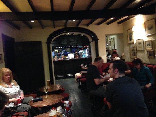 Rydal, UK: Badger Bar interior