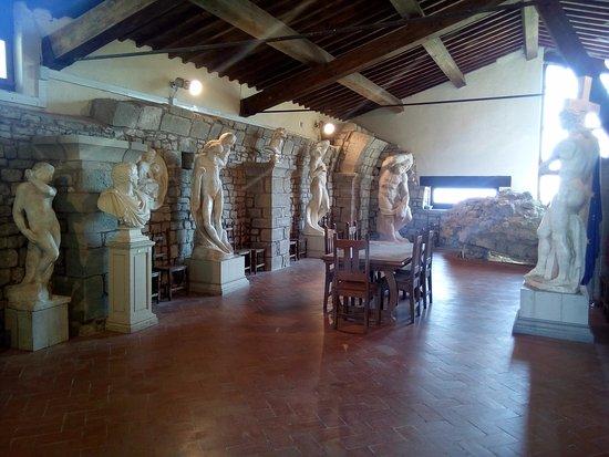 Caprese Michelangelo, Italien: sala del museo