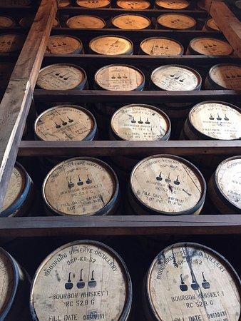 Versailles, KY: Barrel storage
