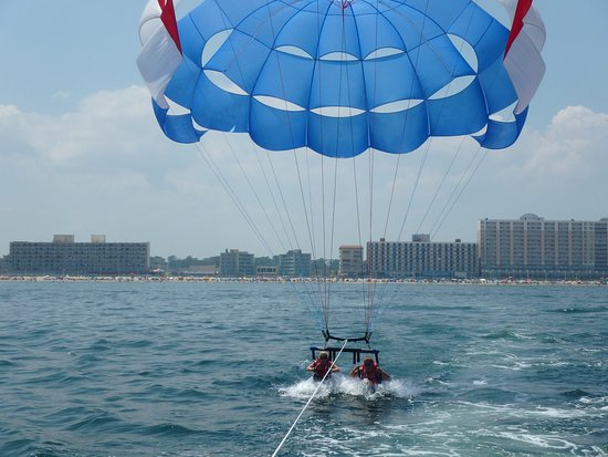 Adventure Parasail and Rudee Inlet Jetski