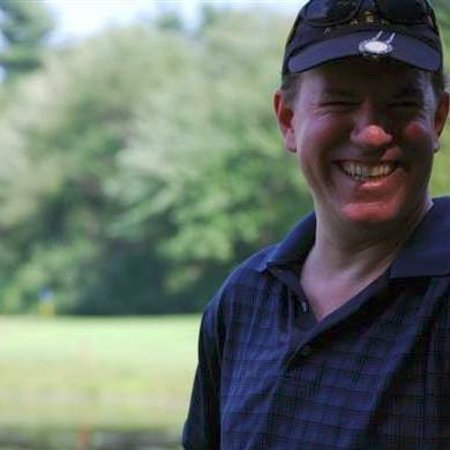 Malone, نيويورك: A happy golfer @ Malone, NY.