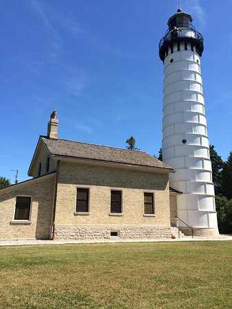 Baileys Harbor, WI: Museum/gift shop/lighthouse.