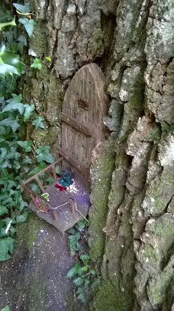 Minstead, UK: fairy door