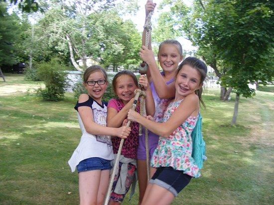 Kawartha Lakes, Kanada: Kids Havin Fun !