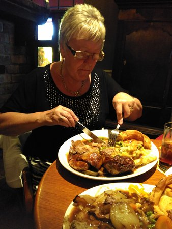 Toby Carvery Rhoose in Barry: the wife s carvery um,um,um,again