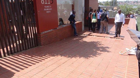Greater Johannesburg, Republika Południowej Afryki: Casa Museu Mandela - Entrada