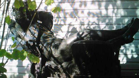 Monument Pushkin Having a Rest