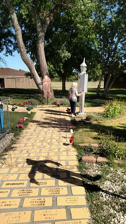 Liberal, KS: Part of the Yellow Brick Road