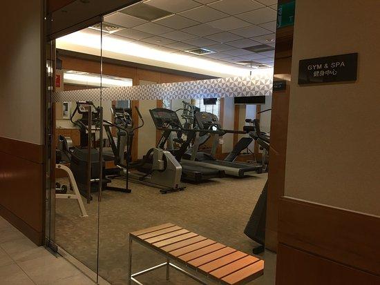 Beautiful Sauna In Gym