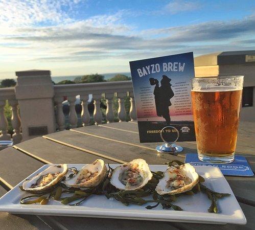 Ocean Terrace: Brewster Oysters & Bayzo Brew