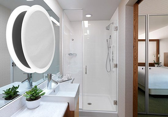 Carle Place, NY: In suite bathroom