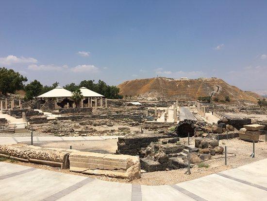 بيت شيعان, إسرائيل: Ruínas de Beit She'an