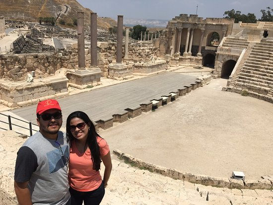 بيت شيعان, إسرائيل: Anfiteatro de Beit She'an