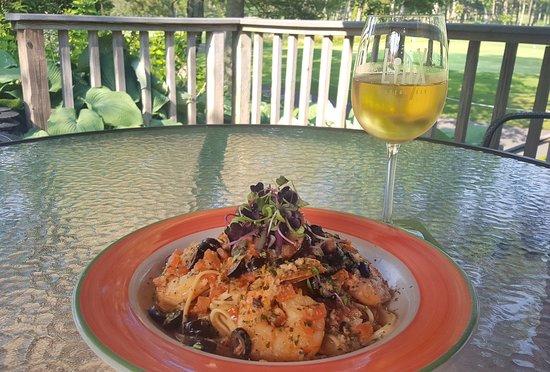 Brewster, MA: Shrimp Scampi