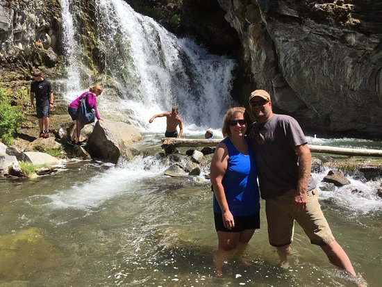 The Paulina Plunge: Our third stop