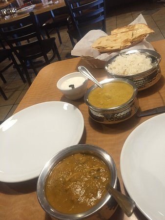 Jackson, TN: Sizzler shrimp curry and chicken ...chill-something...both were awesome
