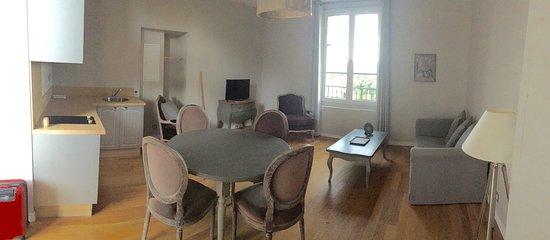 La Redorte, Frankreich: salon-cuisine