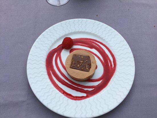 La Redorte, Frankreich: Dessert biscuit-caramel