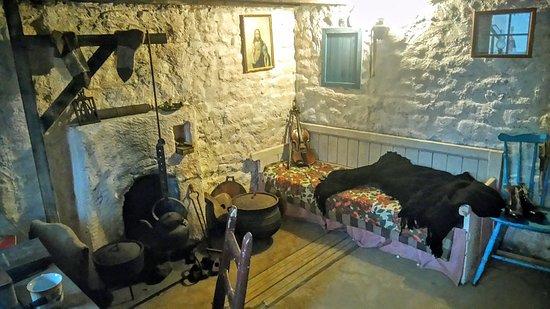 Dunquin, Irlandia: Inside a Blasket house ...