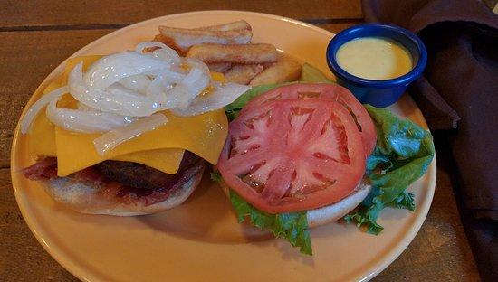 Bluefield, فرجينيا الغربية: Half Pound Burger