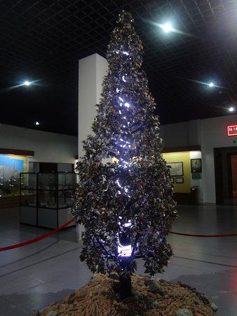 National Museum of Tajikistan: Дерево из минералов